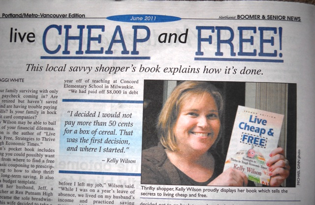 Weekly Shopping Lists | Live Cheap & Free | Wilson Writes