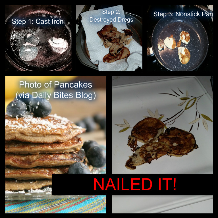 Another Pinterest Pancake Recipe – NAILED IT! | Wilson Writes