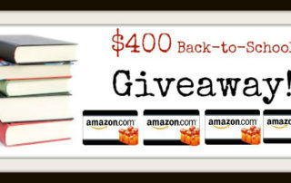 Back-to-School Giveaway: Win One of Four Amazon Gift Cards | Wilson Writes