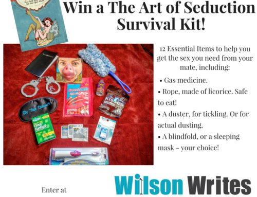 Last Chance! Win the FREE The Art of Seduction Survival Kit