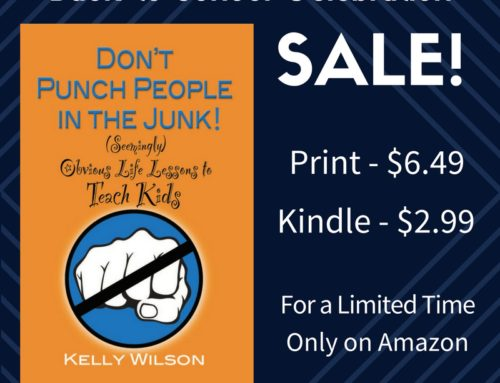 Sale for a Limited Time! Don't Punch People in the Junk Now 40% Off