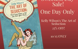 Art of Seduction One Day Sale | Wilson Writes