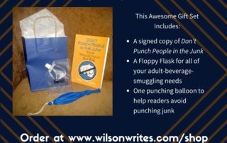 Give the Gift Set of Not Punching People in the Junk | Wilson Writes