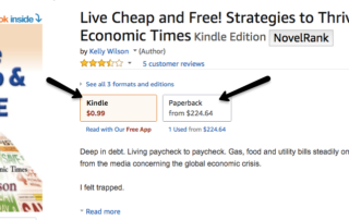 Sale! Live Cheap & Free is Now $.99...or $200! | Wilson Writes