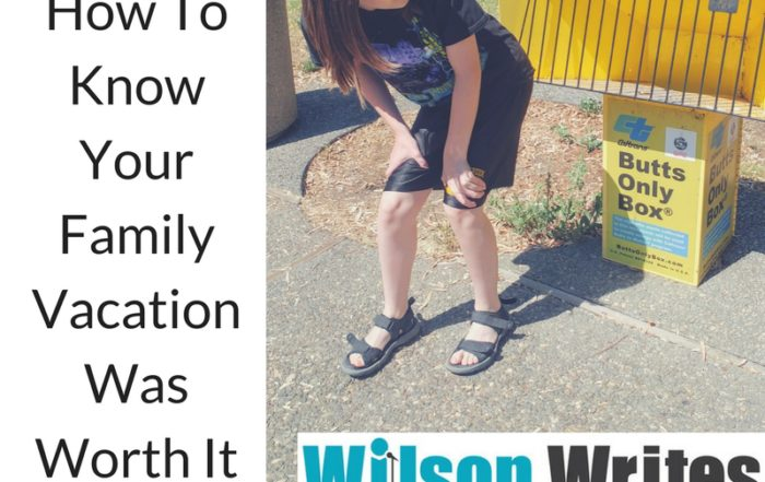 How To Know Your Family Vacation Was Worth It | Wilson Writes